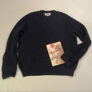 Joseph Abboud cable knit sweater